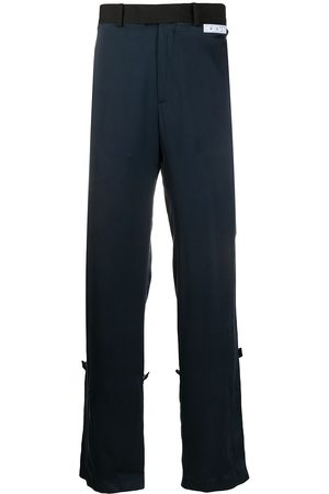 OFF-WHITE Elongated straight-leg trousers
