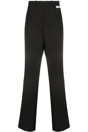 OFF-WHITE Straight-leg tailored trousers