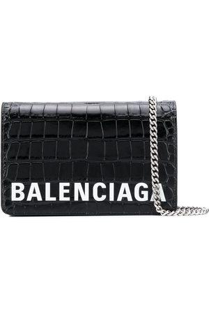 Balenciaga Ville chain wallet