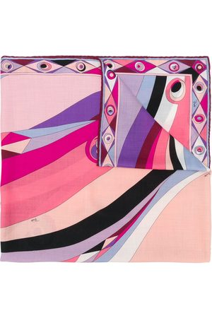 Emilio Pucci Women Scarves - Occhi-print scarf