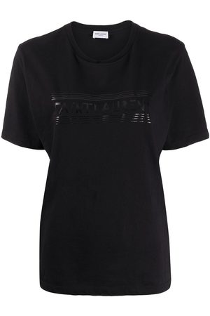 Saint Laurent Tonal logo-print T-shirt