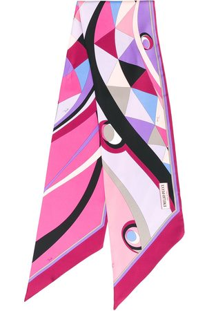 Emilio Pucci Geometric print scarf - Multicolour