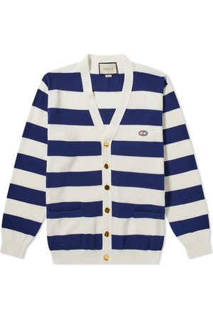 Gucci Men Cardigans - Striped Knitted Cardigan