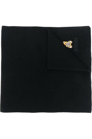 Moschino Women Scarves - Toy Teddy knitted scarf