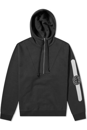 Gucci Men Hoodies - Half Zip Popover Logo Hoody