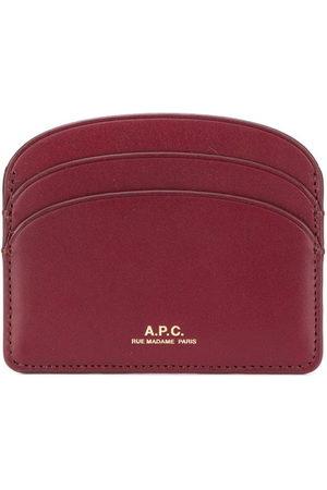 A.P.C. Logo-stamp cardholder