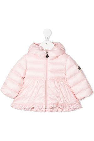 Moncler Flared puffer coat