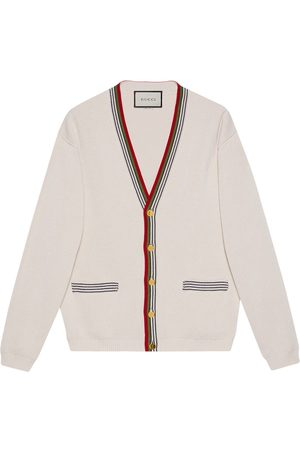 Gucci Stripe-trim cardigan