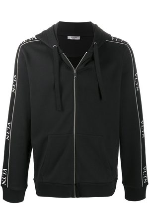 VALENTINO VLTN zipped hooded jacket