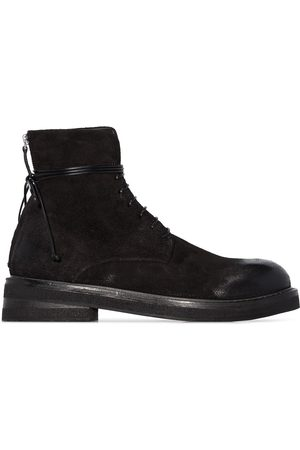 MARSÈLL Zip detail ankle boots