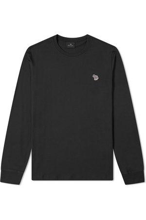 Paul Smith Men Long Sleeve - Long Sleeve Zebra Logo Tee