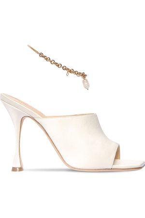 MAGDA BUTRYM 80mm Silk Satin Sandals