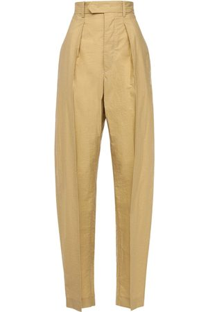 Isabel Marant Tacoma Cotton Blend Boyfriend Pants