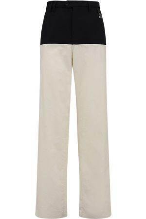 RAF SIMONS Straight Virgin Wool Blend Pants