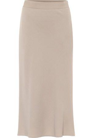 Max Mara Treviso wool-blend midi skirt