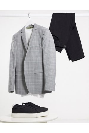 Esprit Slim Suit jacket in check
