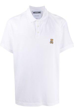 Moschino Men Polo Shirts - Teddy polo shirt