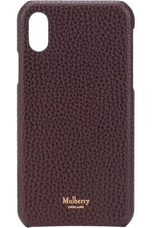 MULBERRY IPhone X/XS logo-stamp phone case