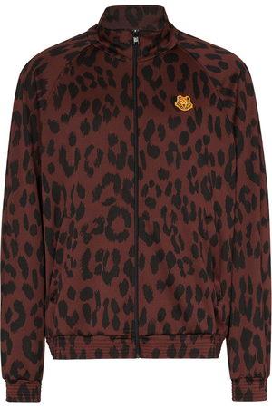 Kenzo Leopard print track jacket