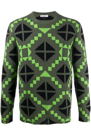 VALENTINO Geometric print jumper