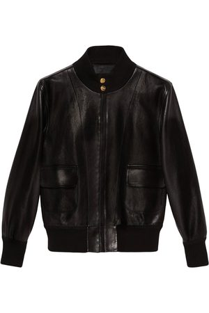Gucci Stand-up collar bomber jacket