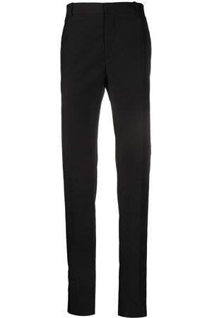 Alexander McQueen Velvet stripe tailored trousers