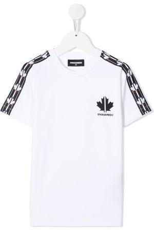 Dsquared2 Maple leaf tape T-shirt