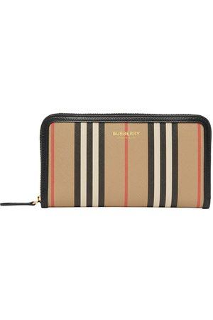 Burberry Icon Stripe wallet - Neutrals