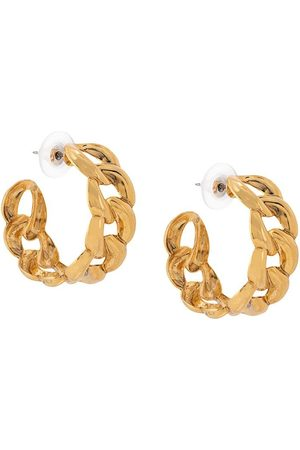 Jennifer Behr Women Earrings - Tara chain hoop earrings