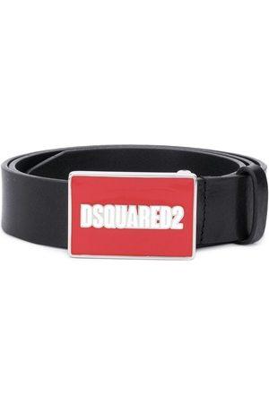 Dsquared2 Enamel logo buckle belt