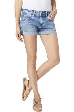Pepe Jeans Siouxie Denim Shorts 29 Denim