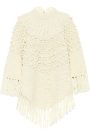 Saint Laurent Women Ponchos & Capes - Wool poncho