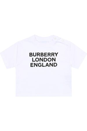 Burberry Baby logo cotton-jersey T-shirt