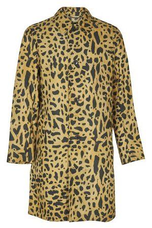 DRIES VAN NOTEN Men Coats - Animal print coat