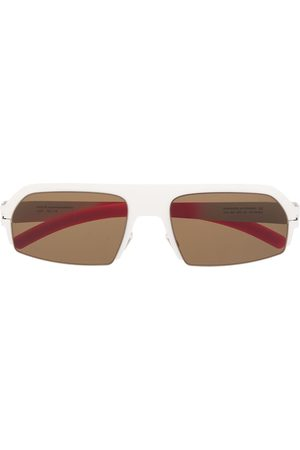 adidas X Bernhard Willhelm Lost square-frame sunglasses