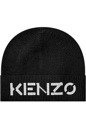Kenzo Men Beanies - Painted Logo Beanie