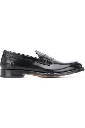 adidas Leather slip-on loafers