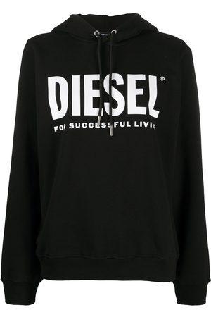 Diesel F-ANG logo print hoodie