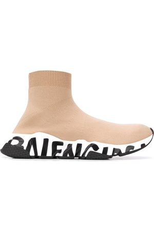 Balenciaga Speed high-top sneakers - NEUTRALS