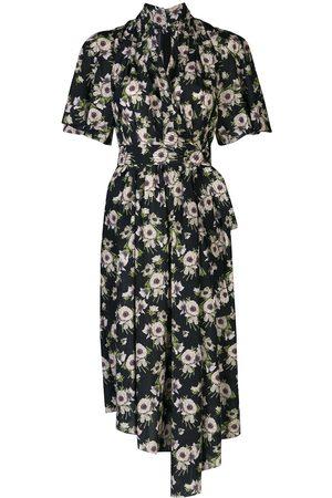 ADAM LIPPES Asymmetric midi dress