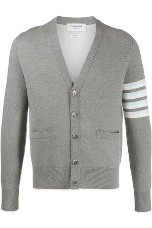 Thom Browne 4-Bar cardigan - Grey