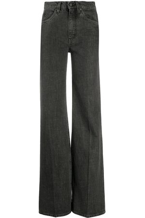 Etro High-rise wide leg jeans - Grey