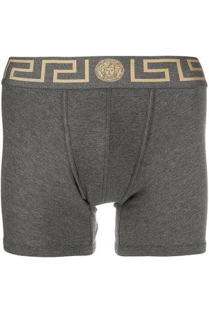 VERSACE Greca border boxer shorts - Grey