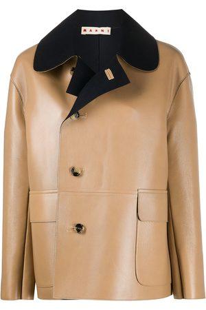 Marni Two-tone jacket - Neutrals