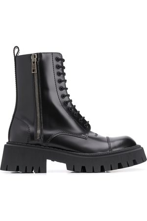 Balenciaga Tractor 20 mm lace-up boots