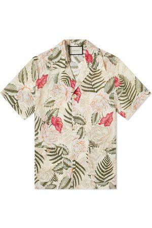 Gucci Men Shirts - Floral Vacation Shirt