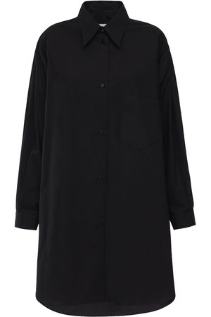 MM6 MAISON MARGIELA Over Cotton Poplin Shirt Dress