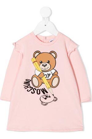 Moschino Baby Casual Dresses - Teddy Bear sweatshirt dress