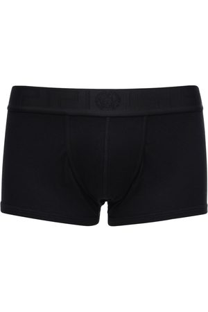 VERSACE Stretch Cotton Low Boxer Briefs