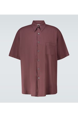 OUR LEGACY Borrowed short-sleeved shirt